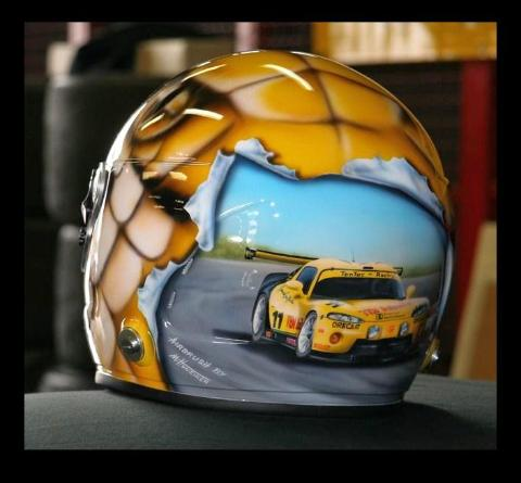 Helm,Airbrush,Design