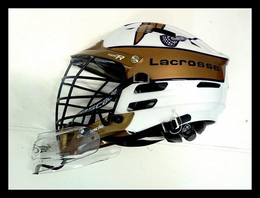 Helm,Helmdesign,Lacrosse,Olten Saints,Helmairbrush